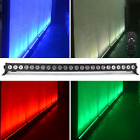 RGB 24 LEDs Light Bar Stage Lighting with Remote DMX512 DJ Party Disco KTV Light