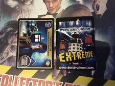 Doctor Who Monster Invasion Extreme Autograph Trading Card #1/3 The Doctor
