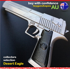 Large Metal Gun Desert Eagle Collectable Keyring Pistol Key Ring Glock Toy Gun