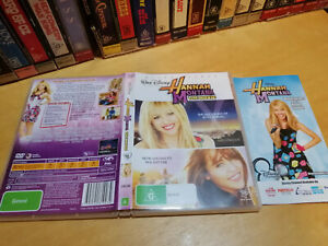 HANNAH MONTANA - THE MOVIE - Australian Walt Disney Release on DVD - Region 4