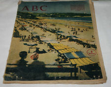 DIARIO ABC 9 JUL. 1960, GUERRA FRIA REINA MERCEDES NOTICIAS PUBLICIDAD ESQUELAS