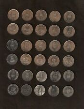SET INDIA 1 RUPEE 1988-2005 15 DIFFERENT COMMEMORATIVE UNC COIN COLLECTION ASIA