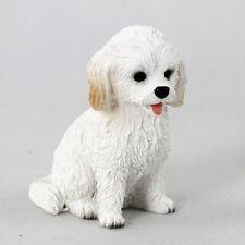 Cockapoo Mini Hand Painted Figurine White