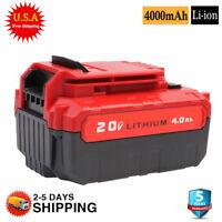 NEW 20V Lithium Battery For PORTER CABLE PCC685L PCC600 PCC685LP PCC680L 4000mAh