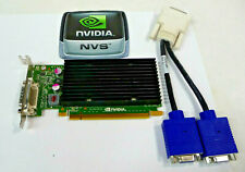PCIe x16 SFF NVIDIA NVS 300 512 MB Dual VGA Output Video Graphics Card W/Cable