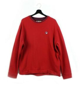 2000s Y2k FILA sweatshirt vintage Bjorn Borg BB crewneck pullover retro L XL