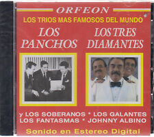 CD - Los Trios Mas Famosos Del Mundo NEW Los Panchos - FAST SHIPPING !