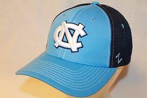 "North Carolina Tar Heels Hat Cap ""Rally 2 Flexfit ZH Cap by Zephyr NCAA Hats"