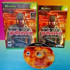Return to Castle Wolfenstein - Microsoft Xbox OG Game Rare Complete