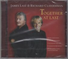 """James Last & Richard Clayderman """"Together At Last"""" NEW/SEALED CD 1st Class Post"""