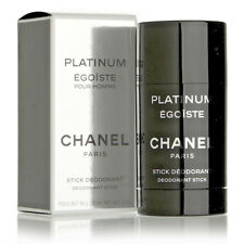 Chanel Platinum Egoiste Stick Deodorant 60g / 75 mL / 2 oz BNIB