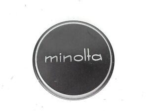#3 Minolta 57mm Slip On Front Camera Lens Cap For 55mm Filter Ring MC / MD / SR