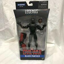 "Marvel Legends BLACK PANTHER CAPTAIN AMERICA CIVIL WAR NIB 6"" ACTION FIGURE"