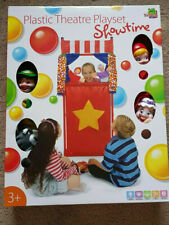 Plastic Theatre Playset Showtime Puppets
