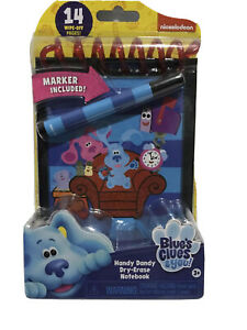 New Blue's Clues & You Handy Dandy Notebook 2020 Blues Clues Dry Erase Marker