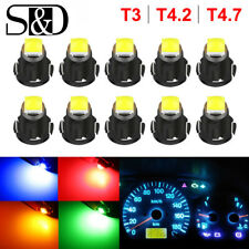 T3 T4.2 T4.7 Neo Wedge LED Instrument Dash Cluster Climate Control Lights Bulbs