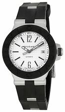 bvlgari dg40bsvd diagono mens automatic watch bvlgari diagono automatic black rubber men watch dg40c6svd new best offer