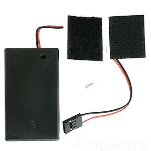 Batteriefach Batteriehalter CMOS BIOS Batterie 3x AAA 286 386 486 Retro Computer