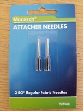 New Monarch Attacher Needles 2 Sg Regular Fabric Needles Fits Sg Amp 3020 Amp Others