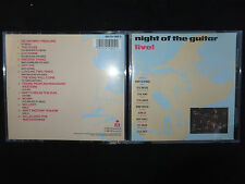RARE CD NIGHT OF THE GUITAR / VARIOUS ARTISTS / LIVE !! /