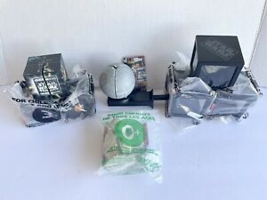 Taco Bell STAR WARS Kids Meal Toys-New In Bag Under 3 Yoda-1996-LOT OF 8-VADER