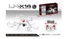 HOT! LH-X14DV 2.4G 6Axis GYRO FPV Camera RC One Key Return Headless Mode- WHITE