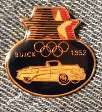 Olympic 1984 Los Angeles Sponsor Pin~Commemorative~1952 Buick~Cars Auto