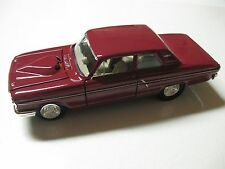 1:24 SCALE MAISTO 1964 FORD FAIRLANE THUNDERBOLT DIECAST CAR W/O BOX