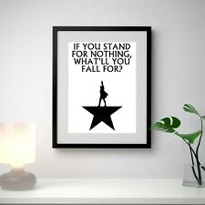 Hamilton Broadway Musical Poster, Quotes, Lyrics, Wall Art, Poster, All Sizes