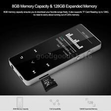 8GB Bluetooth MP3 Player HiFi Metal Musik Loseless Audio FM Aufzeichnung TF X6M2