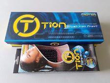 "TION Brush Iron Pro V1 Multi-Purpose Hair Styling Tool Size M 1"" with Damp Brush"