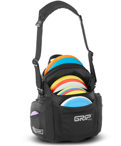 GRIPeq G-Series Disc Golf Bag Coal Black