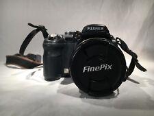 Fujifilm FinePix S9100 9.0 MP Digital Camera - Black NON-WORKING NO POWER + CASE
