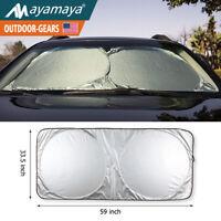 Big Car Windshield Sun Shade Auto Sunshade Visor Reflective UV Block Protection