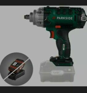 Park Side Impact Wrench Cordless gun body + sockets passk 20-li 20v