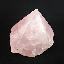 Rose Quartz Crystal Quartz Rough Stone 350g Large Polish Point Natural Specimen