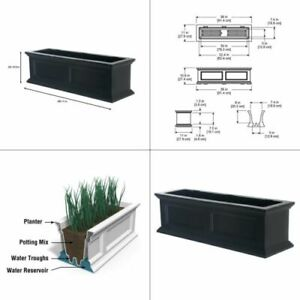 plastic window box planter