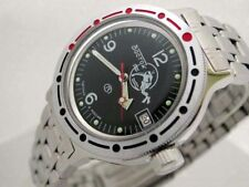 RUSSIAN  VOSTOK  AMPHIBIAN   AUTO MILITARY   DIVER WATCH #0115 NEW