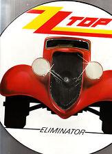 PICTURE DISQUE  ZZ TOP  : ELIMINATOR  DE 1985  (wea)