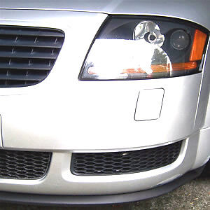 Universal Flexible Front Lip Chin Spoiler Body Kit Valance Trim Wing AUDI A3 A4