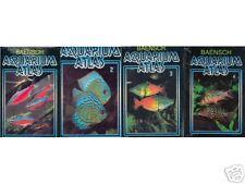 BAENSCH Aquarium Atlas Volume 1 + 2 + 3 + 4 HARDCOVER