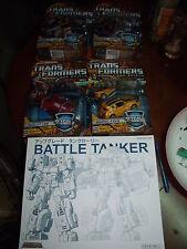 Transformers RTS Jazz Tracks Perceptor 2 Laser Optimus WreckGar Rodimus Cyclonus