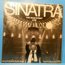 FRANK SINATRA THE MAIN EVENT LP '74 ORIGINAL SHRINK GREAT CONDITION! VG++/VG+!!C