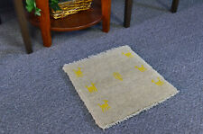 """1'3"""" x 1'3"""" Oriental Hand Knotted Tribal Wool Traditional Gabbeh Area Rug"""