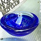 Kosta Boda Atoll Blue Bowl Designed by Anna Ehrner - Preowned but never used!