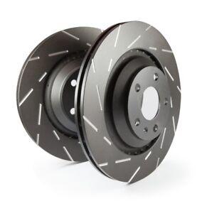 EBC Brakes USR Rear Brake Rotors (Pair) For Hyundai 09-16 Genesis Coupe
