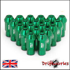 GREEN BLOX FORGED ALLOY WHEEL NUTS 52M M12x1.5 fit MAZDA HONDA TOYOTA MITSUBISHI