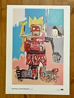 Keith Haring Jean Michel Basquiat Estate Approved Print from Art Institution 7