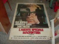 L'Agent Special Mackintosh Manifesto 2F Original 1973 P.Newman D. Sanda