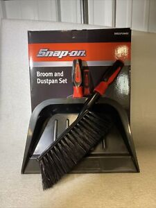 Snap On Tools Collectors Item Broom And Dust Pan Set